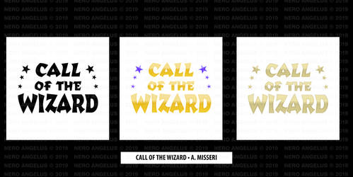 Logo - Call of the Wizard by NeroAngelus