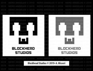 Logo - Blockhead Studios by NeroAngelus