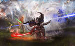 Star Wars Darth Vader painting