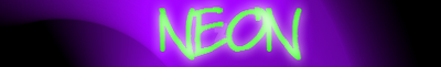 Neon Banner by arcane-depiction