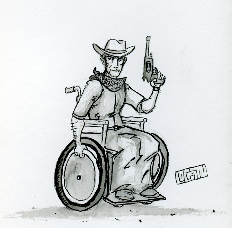 This ink cowboy by Betalogan