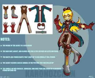 Rhay Costume Concept I by KaronoZchan