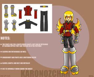 Rhay Costume Concept II by KaronoZchan