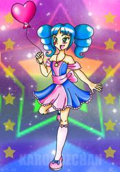 Glitz and Glitter: Blair by KaronoZchan