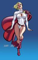 Powergirl by EliseuGouveia