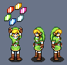 Link found some rupees by Neike60