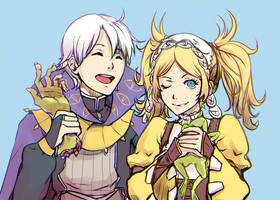 Henry +Lissa by tea-and-dreams