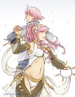 Olivia and Inigo by tea-and-dreams