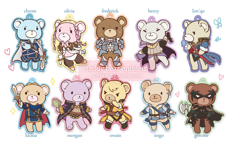 Teddy Bear Emblem by tea-and-dreams