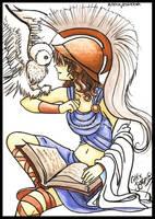 Athena - Minerva by CelticBotan