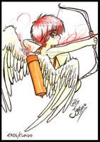 Eros - Cupid or Amor by CelticBotan