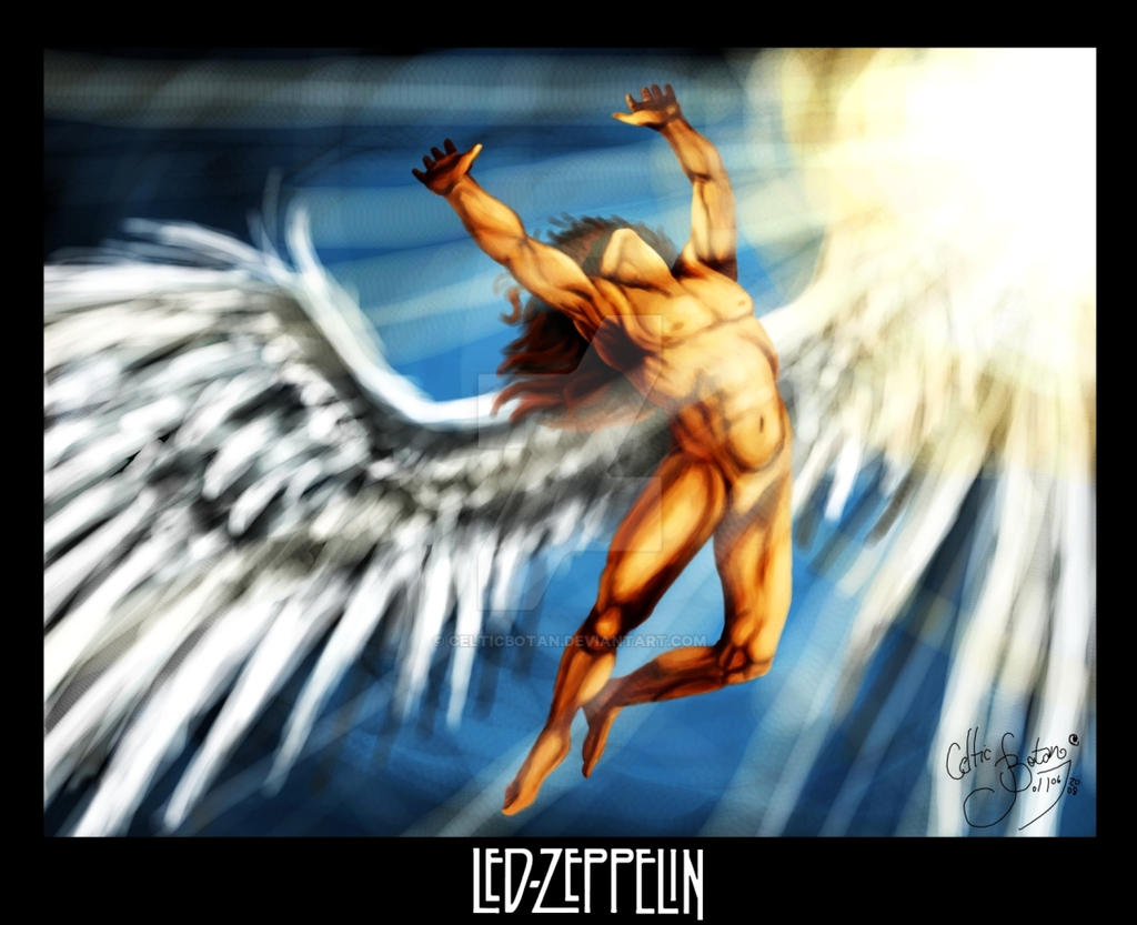 Led Zeppelin Icarus Tattoo