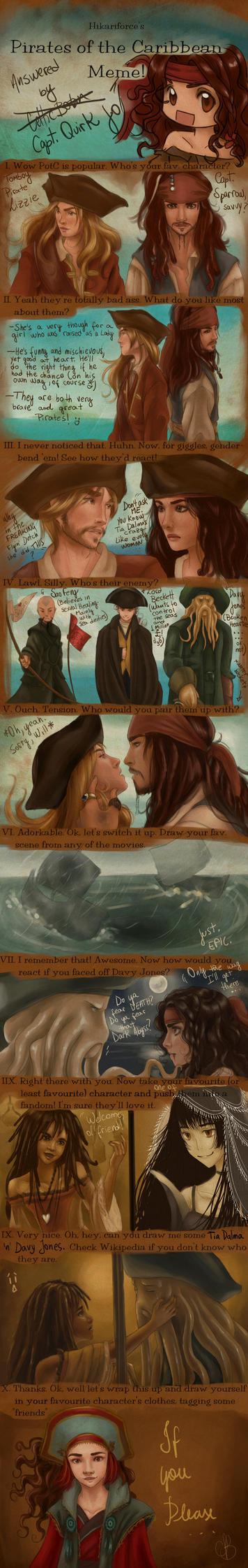 Pirates of the Caribbean MeMe by CelticBotan