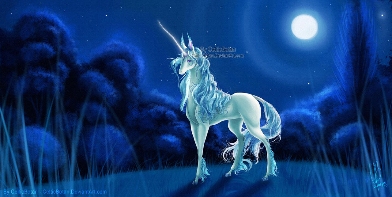 The Last Unicorn by CelticBotan