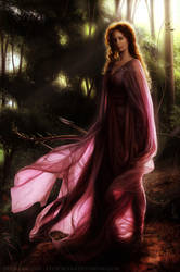 The Queen of Enara Lake by CelticBotan