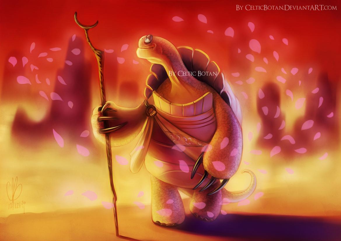 Master Oogway By Celticbotan On Deviantart