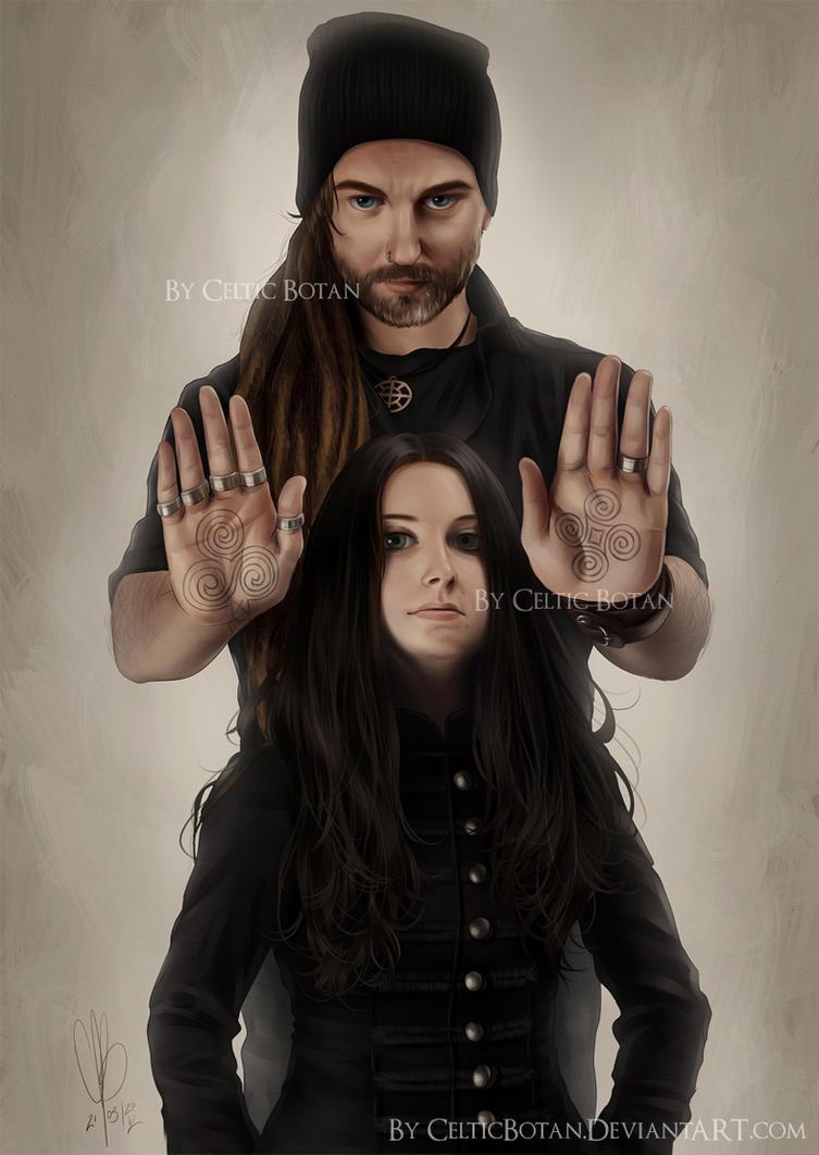 Chrigel and Anna - HELVETIOS by CelticBotan