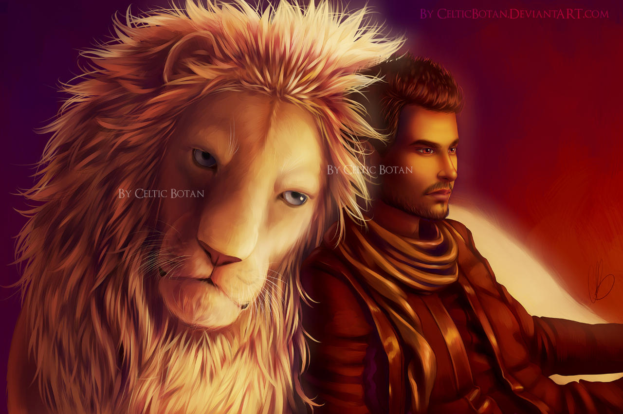 The Lion and His Boy by CelticBotan
