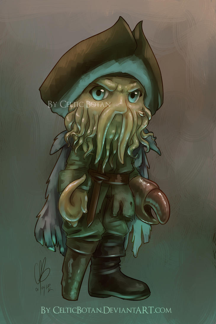 Chibi Davy Jones by CelticBotan