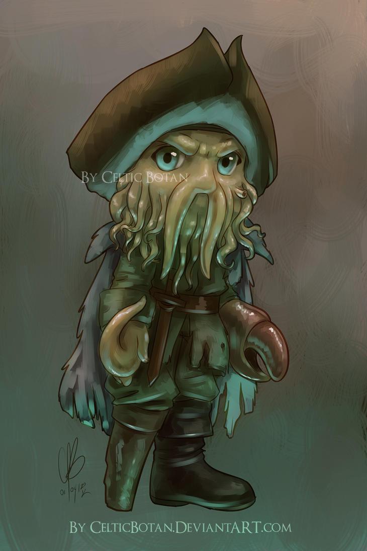 Chibi Davy Jones by CelticBotan