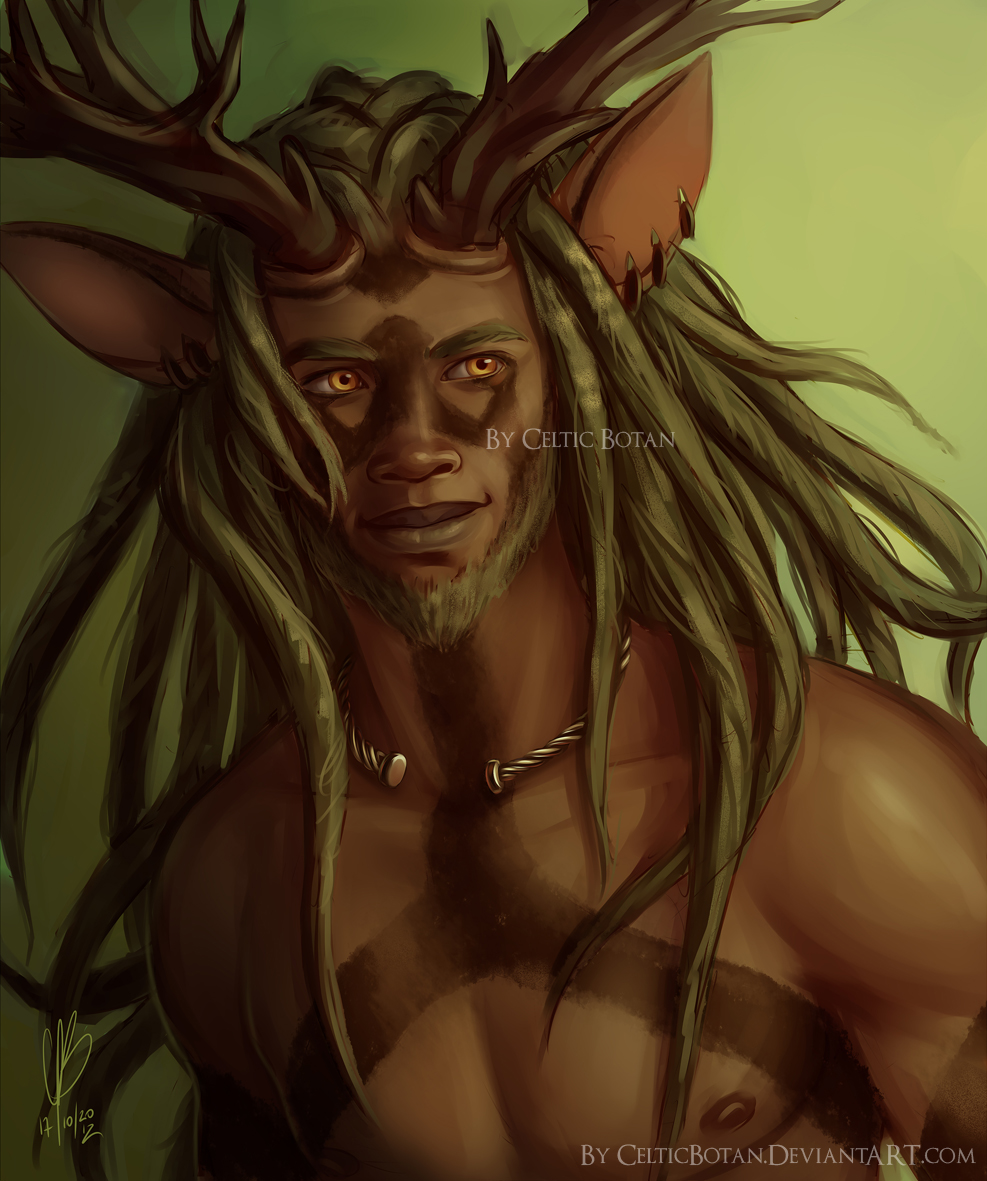 Cernunnos by CelticBotan