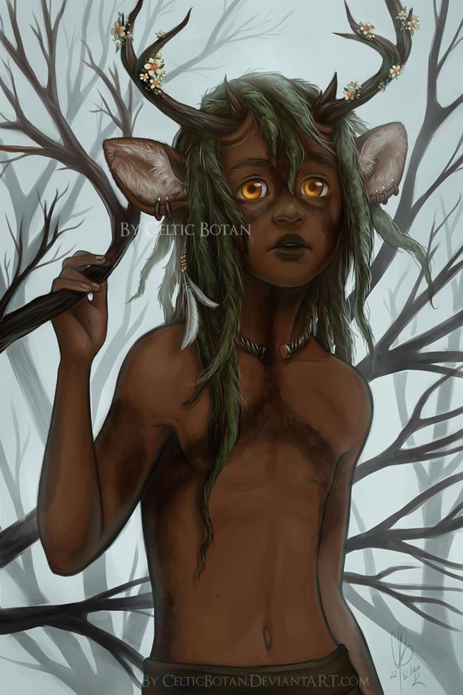 The Deer by CelticBotan