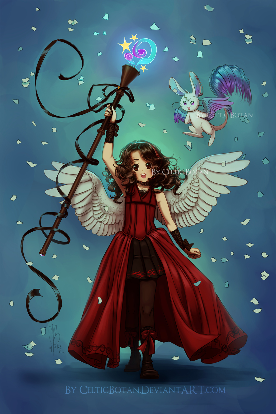 Puella Magi Sharon Magica by CelticBotan