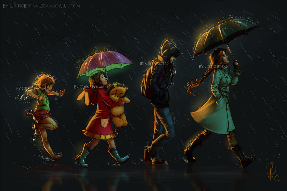 Rain by CelticBotan