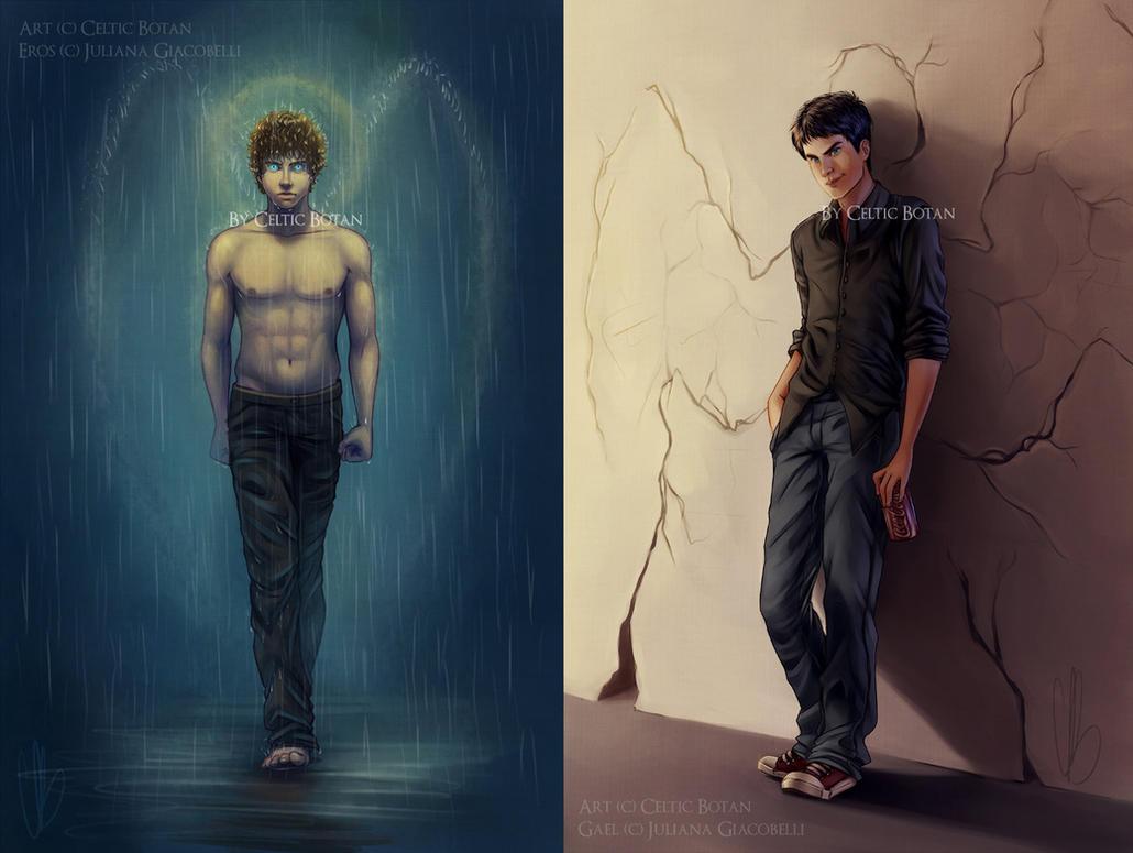 Eros and Gael by CelticBotan