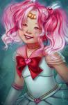 Sailor Chibi Moon by CelticBotan