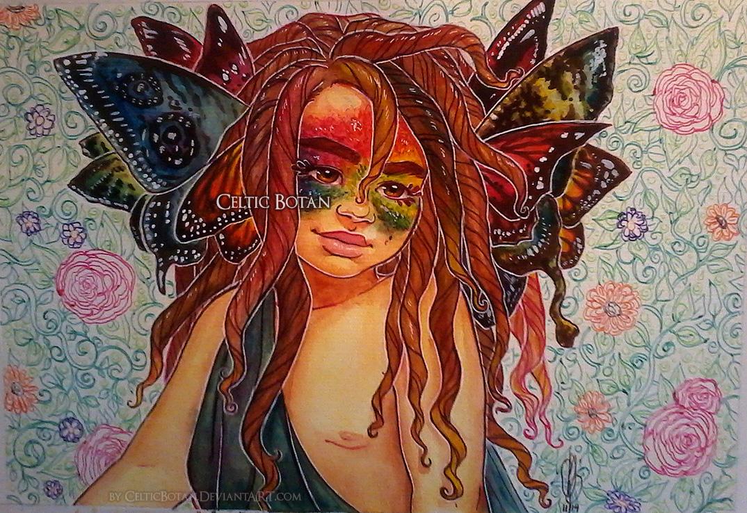 Butterfly Angel by CelticBotan