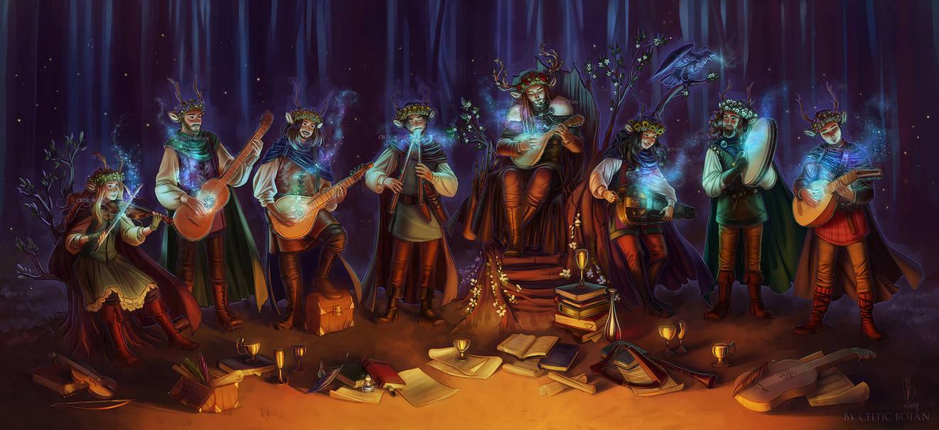 The Bard Kings by CelticBotan