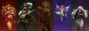 Weirdest Team Ever (RPG das Minas) by CelticBotan
