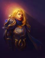 The Lightbringer (Waist-up Commission) by CelticBotan
