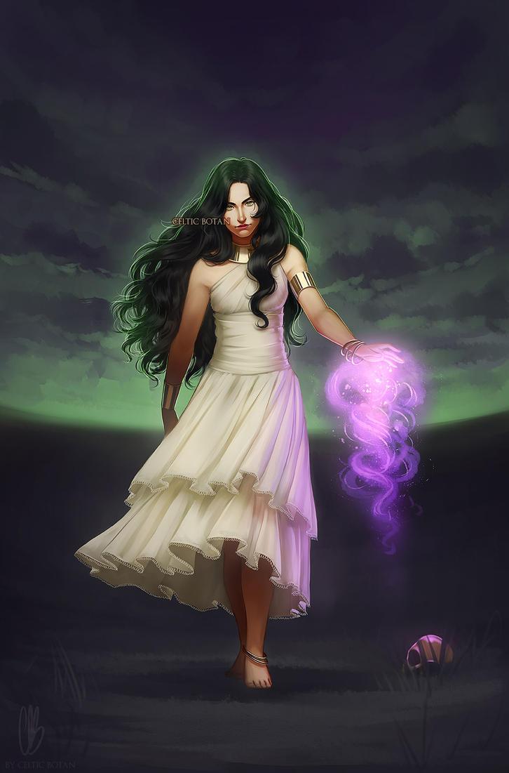 Lady Envy (COMMISSION) by CelticBotan
