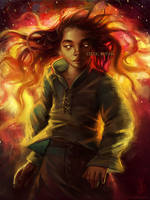 In Flames (COMMISSION) by CelticBotan