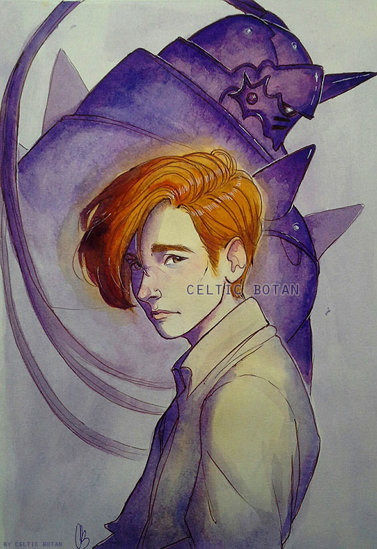 Alphonse Elric by CelticBotan