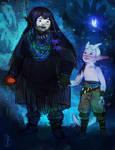 Naru, Ori and Sein by CelticBotan