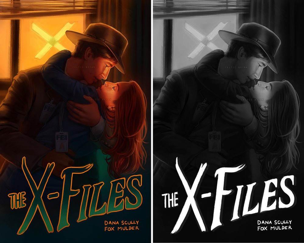 Old Fashioned Investigation (X-Files Commission) by CelticBotan