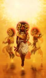 Children of the Sun by CelticBotan
