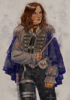 And Yet Another HP!AU, Olivia Benson This Time