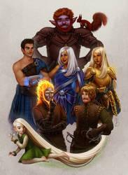Big Family (COMMISSION) by CelticBotan