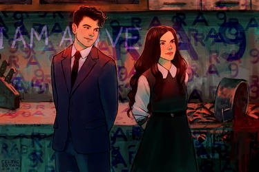 Connor and Lily (COMMISSION)
