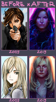 BEFORE x AFTER (2009-2019)