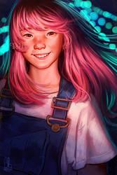 Sora Naegino (Kaleido Star Fanart)