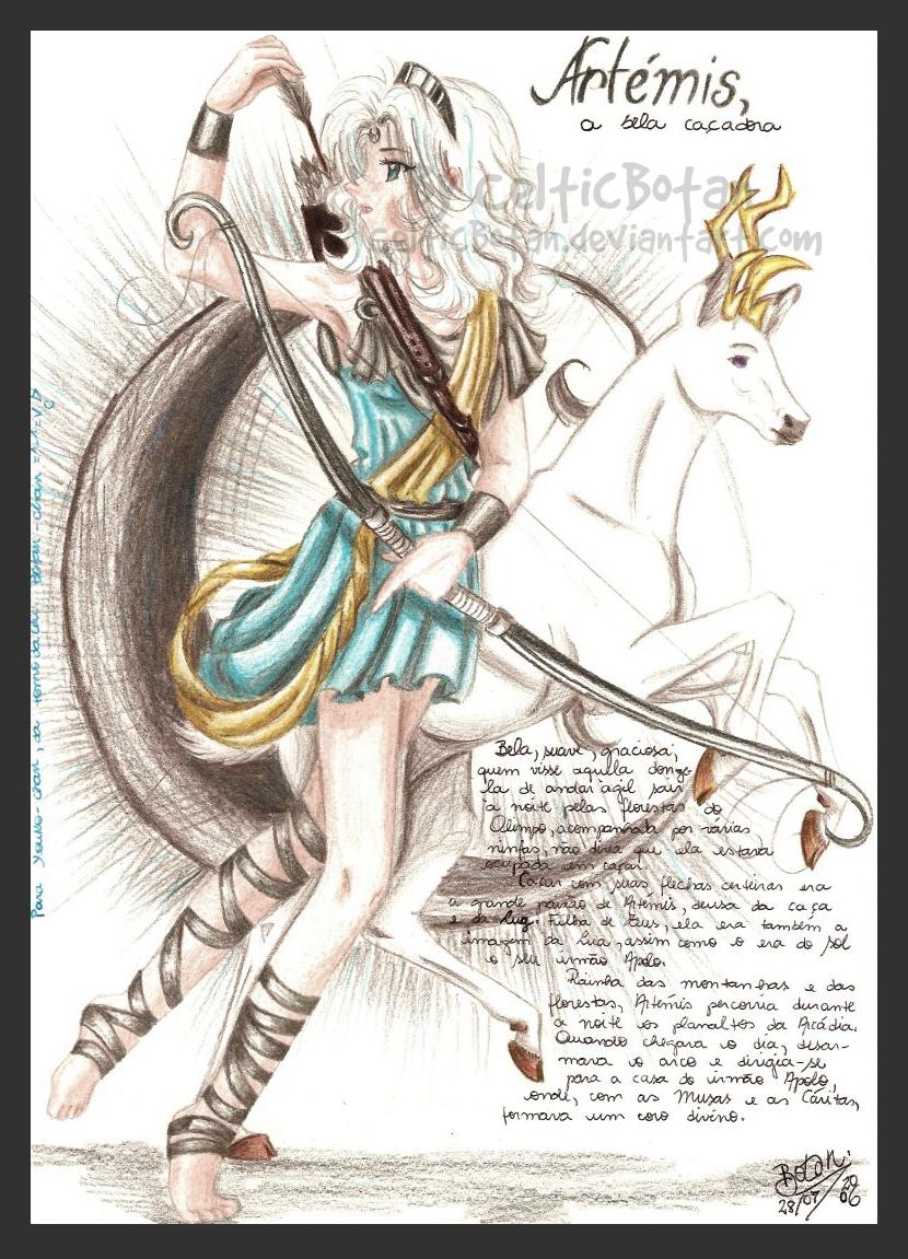 Artemis by CelticBotan on DeviantArt