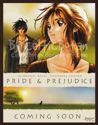 Pride 'n' Prejudice Cover by CelticBotan