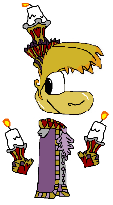 Rayman As Lumiere From Beauty And The Beast 2017 By Trollsareamazing