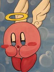 Kirby the Innocent Angel Poyo~! by RoseJigglypuff76