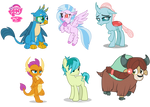My Little Pony World of Light AU (Young 6)